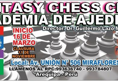 "CLUB DE AJEDREZ ""FANTASY CHESS CLUB"" DE MIRAFLORES-Arequipa"