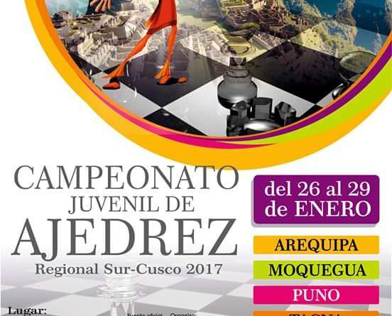 Listado de Jugadores  torneo Regional Sur Cusco 2017