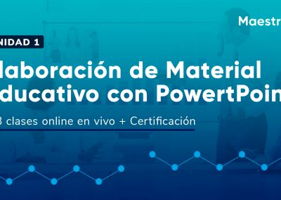 Creación de Material educativo con Powert Point